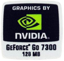NVIDIA GeForce Go 7300 sticker logotipo pegatinas 18x18mm (803)