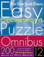 Easy Crossword Puzzle Omnibus Vol. 2 : 200 Solvable Puzzles from the Pages of...