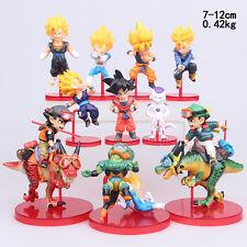 10x Anime Dragon Ball Z DBZ Saiyan Son Goku Frieza Vegeta Action Figure Kids Toy