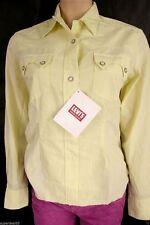 Women's LVC Levis Shorthorn Western Shirt Bleeding Yellow S  Levi's 100% Cotton