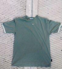 NUOVA linea uomo CP Company A Maniche Corte Blu Navy Cotone Camicia Taglia S BNWT RRP £ 140
