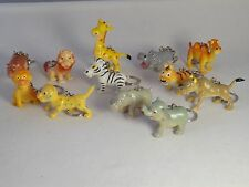 12 x Animal Keyrings/Keychains, Ideal Party Bag Fillers