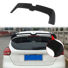 RS STYLE Rear Roof Wing Spoiler For Ford Focus Hatchback 13-Up ABS Plastic