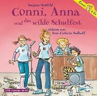 Conni, Anna und das wilde Schulfest: 2 CDs von Hoßfeld, ... | Buch | Zustand gut