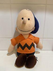 Charlie Brown Plush Vintage 1966 Peanuts Gang Stuffed Toy Doll 1966