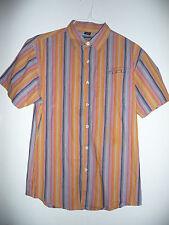 FUBU Multi-Color 100% Cotton Boy's Short Sleeve Shirt-16/18