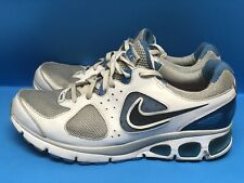 Nike Air Max Turbulence Women's Running Shoes White Blue Grey Size 10 US