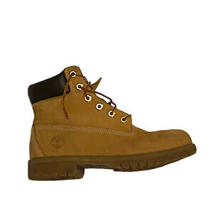 Timberland Junior Size 6 Wheat 6-Inch Premium Waterproof Boots 12909 Fast Ship