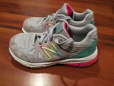 New Balance 888 KJ888SGP Youth Girls Athletic Running Grey Shoes Size 1.5