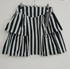 NEW Finders Keepers womens striped skirt size 10 BNWT RRP$130 100% cotton #002