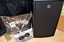 New Hk Audio Premium Pro PR0 210A,600W Active Stereo Subwoofer w/Cover,Open box.