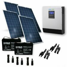 Kit Solare Baita OS Pro 1120W 24V Pannello Inverter 3000W Batteria AGM 120Ah SB