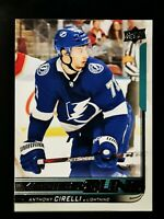 Anthony Cirelli 2018-19 Upper Deck Young Guns RC Tampa Bay Lightning
