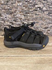 Keen Newport H2 Jr 1022824 Black Kids Size 13 Sandal Worn 1X