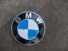 BMW 82MM DIAMETER FRONT BONNET BADGE WITH TWO LOCATING PINS - PART NO 8 132 375