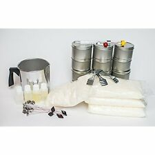 100% Soy Candle Making Kit Easy For First Time Candle Makers Make Gifts Decor