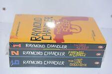 NEW Raymond Chandler Phillip Marlowe 3 bookset Big Sleep, Farewell, Long Goodbye