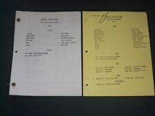 1987-1989 MARRIED WITH CHILDREN TELEVISION SCRIPTS - LOT OF 2 - O 3093