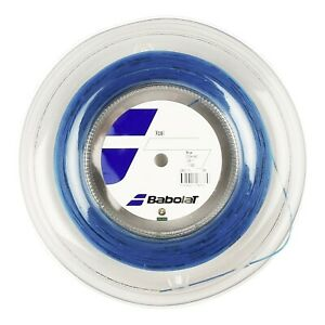 New BabolaT Xcel 130/16 200M Reel Tennis string Blue France 117838