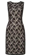 Women's Black Lace Dress Size 20 BNWT RRP £140 J S Collections