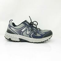 New Balance Mens 412 V3 MTE412G3 Gray Navy Running Shoes Lace Up Size 8.5 D