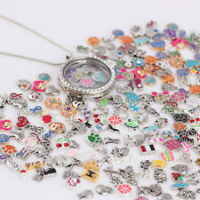50pcs Fashion Cute Floating Charms BIG DEAL For Glass Living Memory Locket 2018