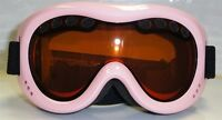 Ski Banz Ski  Snow Goggles  Kids 4-10 Powder Pink