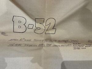 """B52 106"""" Span Slope Soarer Plan & Engine Cowls"""