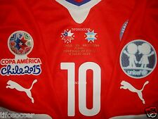 Valdivia Chile Copa AmÉRica 2015 Match Unworn Shirt Final Match