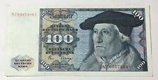 More details for 1980 germany federal republic 100 deutsche mark banknotes, xvf, crisp