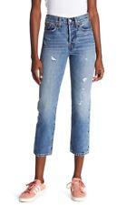 NWT Levi's Levi's(R) Wedgie High Waist Straight Jeans 28 $158