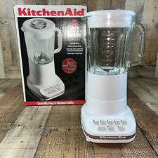Kitchen Aid Ultra Power Mixer / Blender Model No. Ksb5Wh - 5 speed gently used