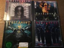 Testament [4 CD Alben] Souls of Black + Low + Dark Roots of Earth + Demonic