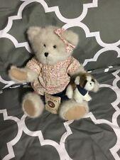 """Boyds Bears """"Maddie w/Abbey""""- 12"""" Plush Bear - #904661- Retired -Euc"""