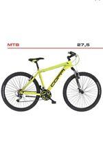 Bicicletta Mountain Bike COPPI 27'' Shimano TY21 21 Velocità ammortizzata