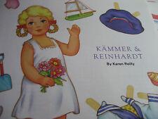 2006 Karen Reilly Kammer & Reinhardt Magazine Paper Doll / Uncut