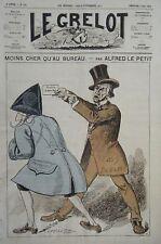 JOURNAL LE GRELOT PAR LE PETIT DEBATS N° 160  1874