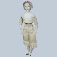 "12"" Antique Princess Eugenie Parian Lustre Doll Tlc"