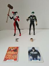 Mcfarlane The Joker And Harley Quinn Action Figures With Accessories