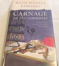 ** Signed Copy ** Ruth Dudley Edwards Carnage on the Committee