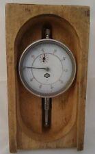 Alte Messuhr Feintaster Sondeco Uhrmacher Werkzeug in Holzschatulle