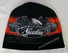 Beanie Freedom Eagle Sublimated Design Knit Hat Cap #1004
