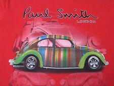 Originalware Paul Smith Volkswagen beetle VW-Käfer rot T-shirt Gr.XL