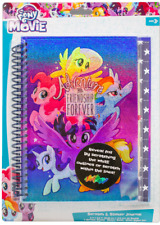 My Little Pony The Movie Scratch & Sticker Journal 4 Holographic Scratch of
