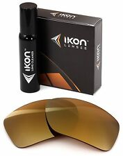 Polarized IKON Replacement Lenses Von Zipper Papa G Sunglasses 24K Gold Mirror