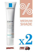 2X La Roche Posay Effaclar Duo + Unifiant *Medium Shade* 40ml
