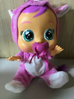Cry Babies Sasha The Rhino Baby Doll Exclusive Pink