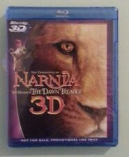 THE CHRONICLES OF NARNIA THE VOYAGE OF THE DAWN TREADER 3D BLU RAY  NEW promo