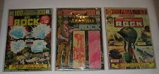 Vintage DC Comics Books Army SGT.Rock Lot of 3 Books 1970's  FREE SHIPPING