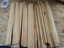 scrap wood strips for crafts lot of 50 approx 11.5